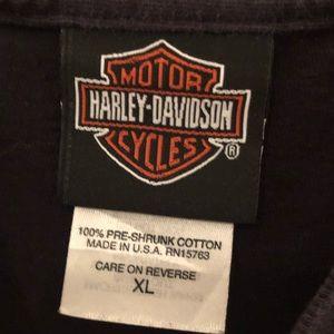 Harley-Davidson Shirts - Harley-Davidson Men's Vintage T-Shirt Size XL